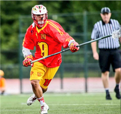 Andy Song '17 representing China at the FIL U-19 World Championships
