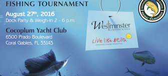 Join Us at the WCS Fishing Tournament