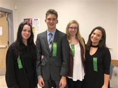 Melanie Deville and Dante Martinez will represent South Florida and WCS at the State of Florida Science and Engineering Fair. Katrina Bobson and Carolina Gonzalez are alternates for the State Science Fair.