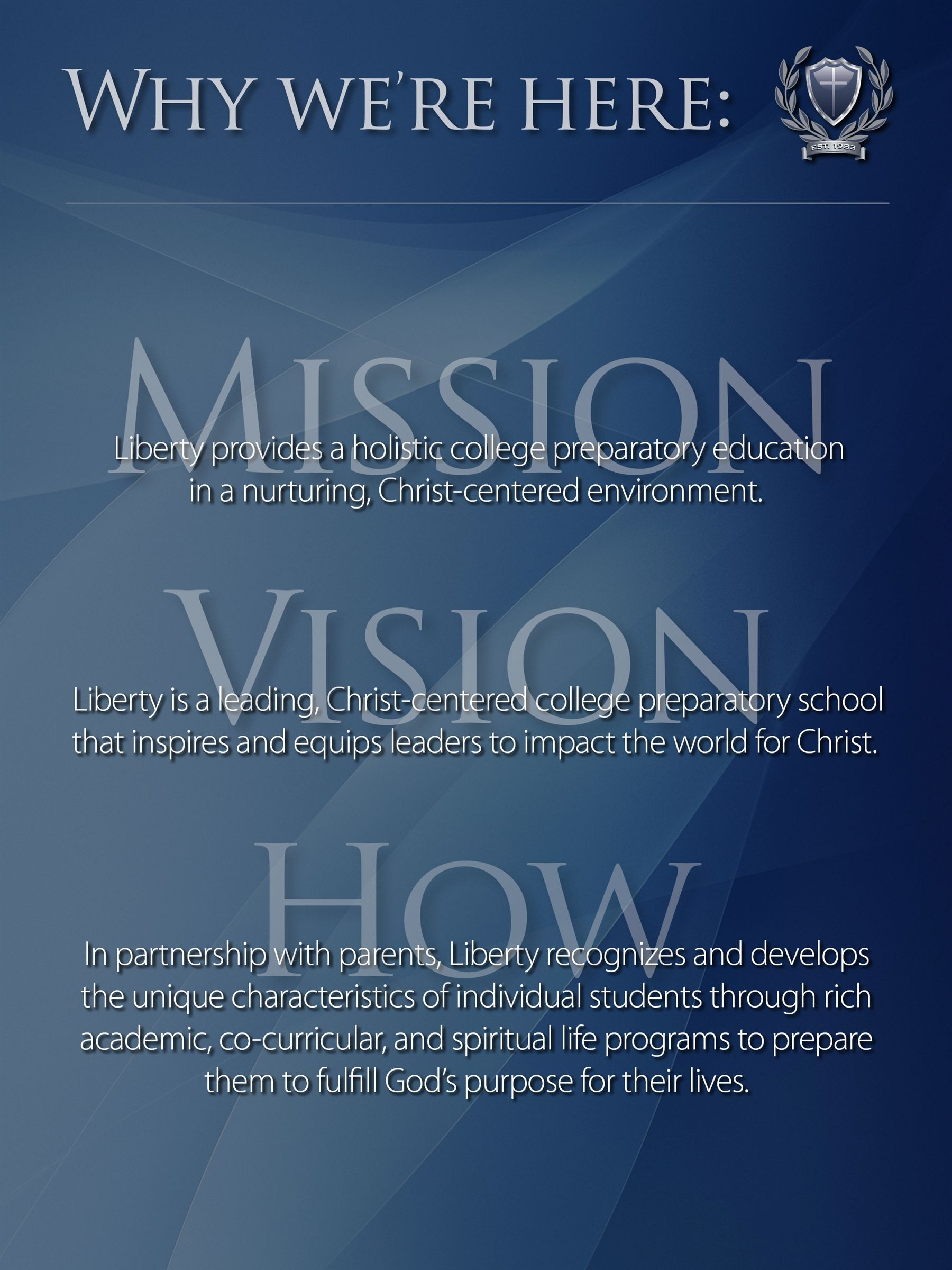 About - What We Believe - Mission Statement