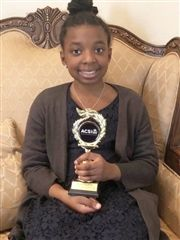 Thandi Gwelo wins seventh place at ACSI Regional Spelling Bee on March 3 in Plano