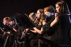 Band students perform in their spring concert on April 20