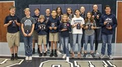 Congratulations to these Middle School student-athletes who were recognized as