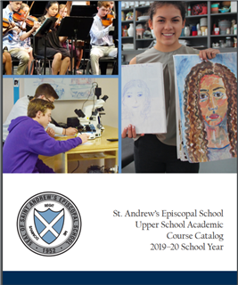 Upper School Course Catalog 2019-20