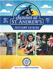 Our Summer 2021 Camp Catalog is coming this March! Here is our 2020 camp catalog which you can download to see last summer's camp details prior to Covid.