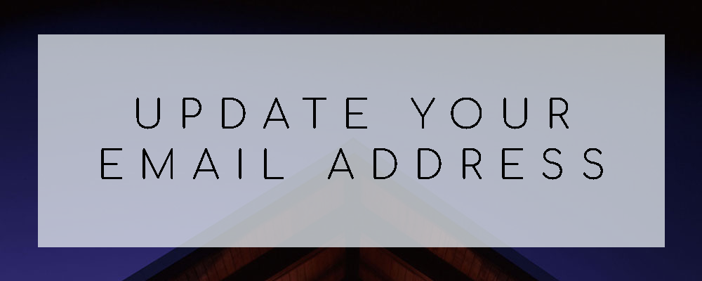 Update Your Email