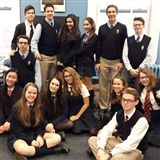 Mrs. Carey's Form IV English class says goodbye to Aidan and Vio. There also may have been cupcakes!