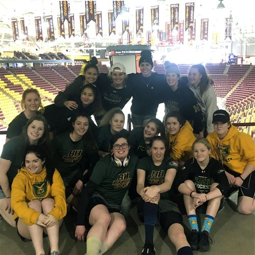 2018/19 BH Blazers at 3M Arena at Mariucci