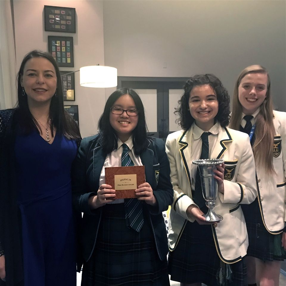 International Independent Schools Public Speaking Competition, November 2019