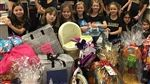 Grade 3 BH girls celebrate the season of giving, 2017.