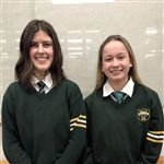Lauren & Breanna at Angus Reid Cross-Examination Tournament (February 2020)