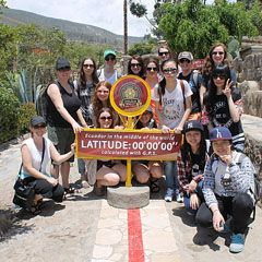 BH Students journeyed to Ecuador and the Galapagos Islands