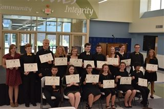 2017 Beta Club Inductees