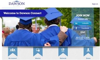 NEW: DawsonConnect.net Alumni Network - Learn more here!