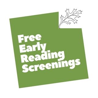 REGISTER FOR FREE EARLY READING SCREENINGS