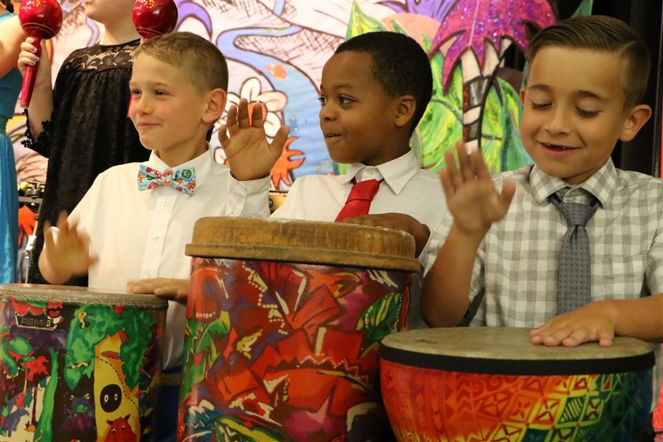 Music and performance are participatory sports at The Lexington School.