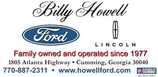 Billy Howell Ford Golf