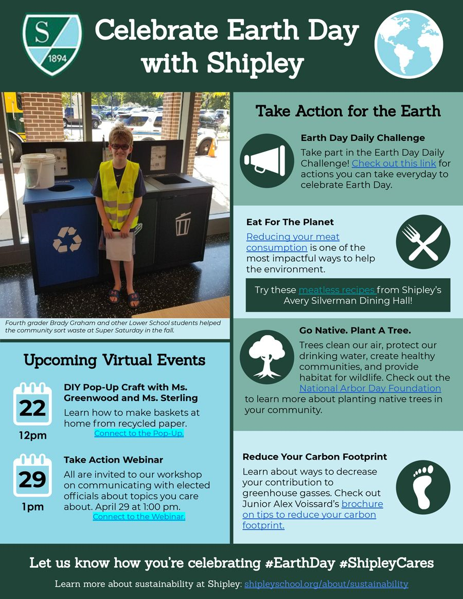 Earth Day Newsletter