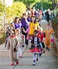 #38 The Lower School Halloween Parade and Assembly