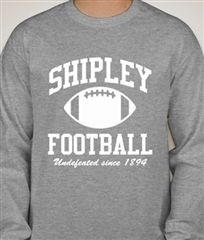 #50 Shipley Football: Undefeated since 1894.