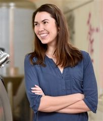 Tess Hart '05, Co-Founder and Chief Executive Officer of Triple Bottom Brewing Company