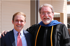 Thomas Hydrick '09 and Dr. Paul Ragan