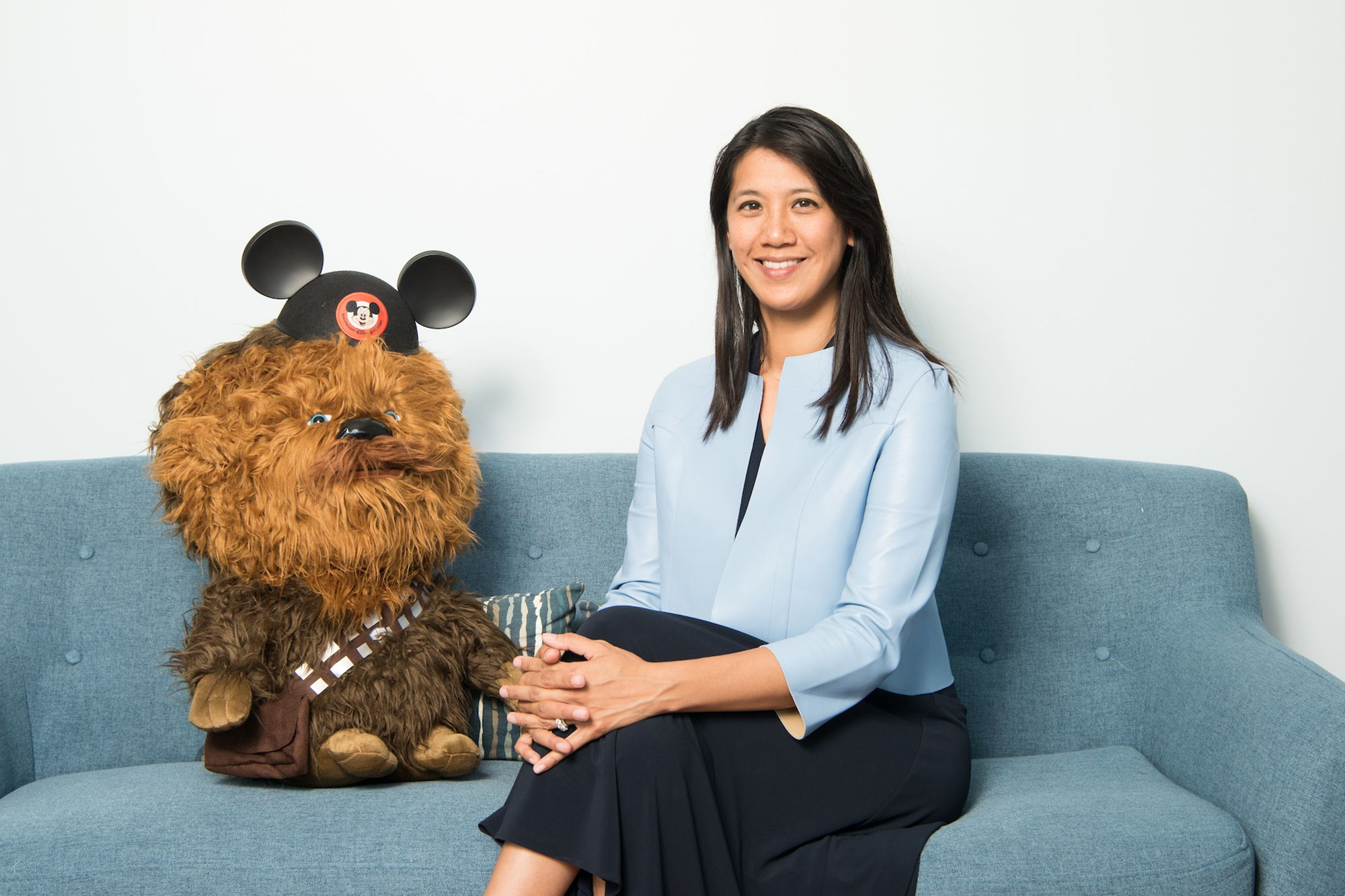 Alumni Agnes Chu '98, executive at Walt Disney Imagineering