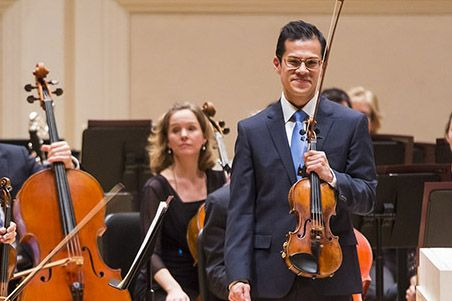Dave Chan, concertmaster at Metropolitan Opera Orchestra & faculty at Juliard