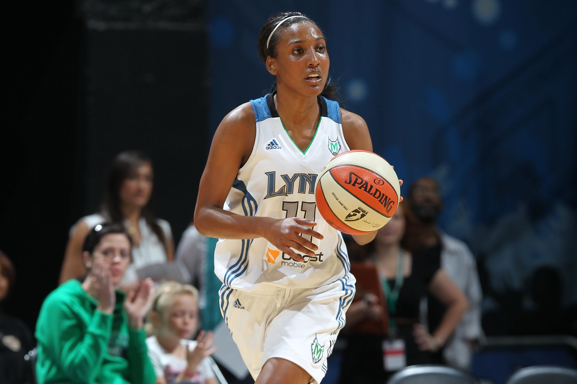 Candice Wiggins '04, former WNBA player