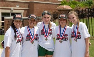 Trinity Alums help Westminster Win Girls State