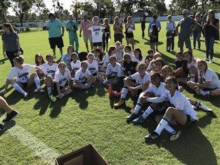 Middle School Girls' Soccer Defeats Carrollton, Wins