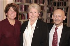 Penny Townsend, Penny Matthews and Guillermo Urbina
