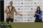 Shane Battier and Steph Sayfie Aagaard '88, Auction Masters of Ceremonies