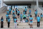 Volunteers at the Miami Youth Climate Summit