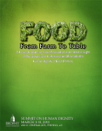 2011 | From Farm to Table: Examining Food Production and Intake