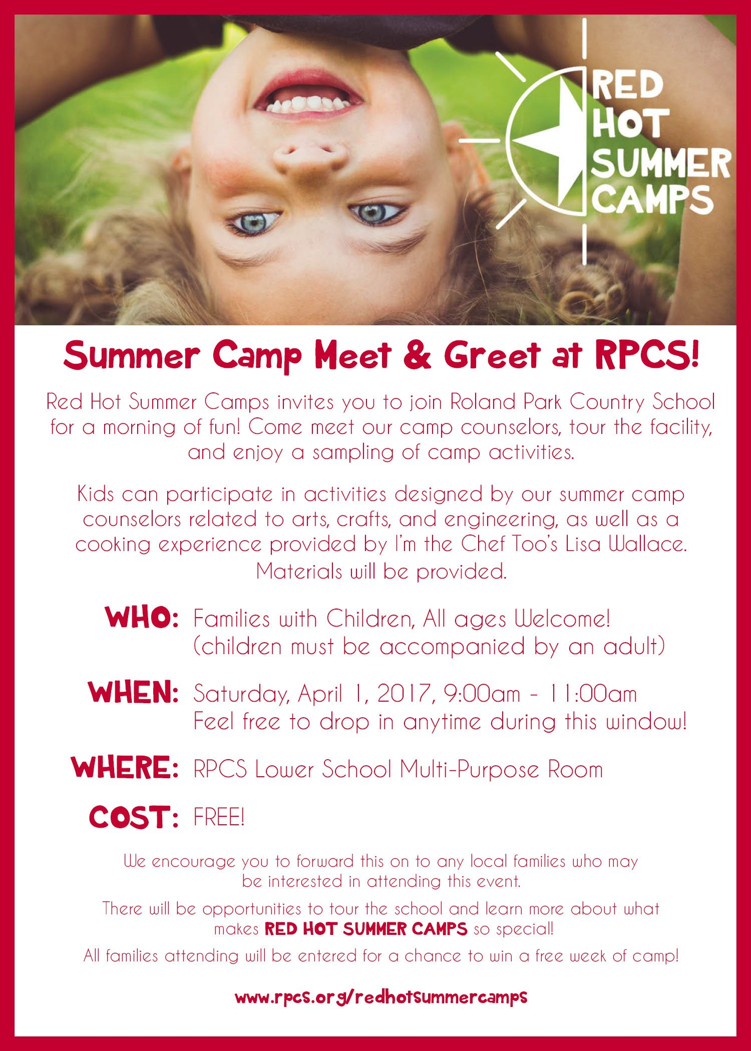 Roland Park Country School Summer Camp Meet Greet At Rpcs