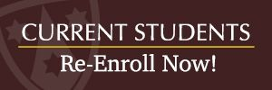 Re-Enrollment for Current Students is Now Open