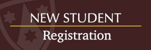 New Student Registration is Now Open