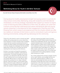 Rethinking Stress for Youth in All-Girls' Schools