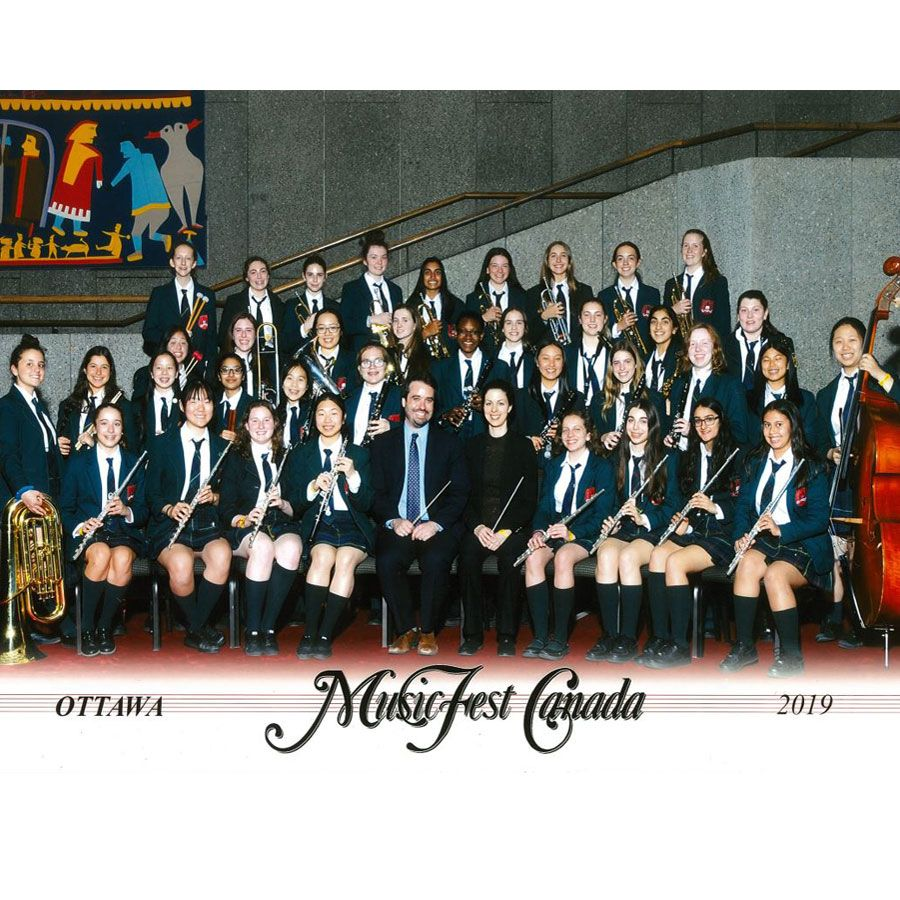 The 47th MusicFest Canada Nationals in Ottawa were a marvelous victory for Branksome's Grade 8 and Grade 9/10 Bands.