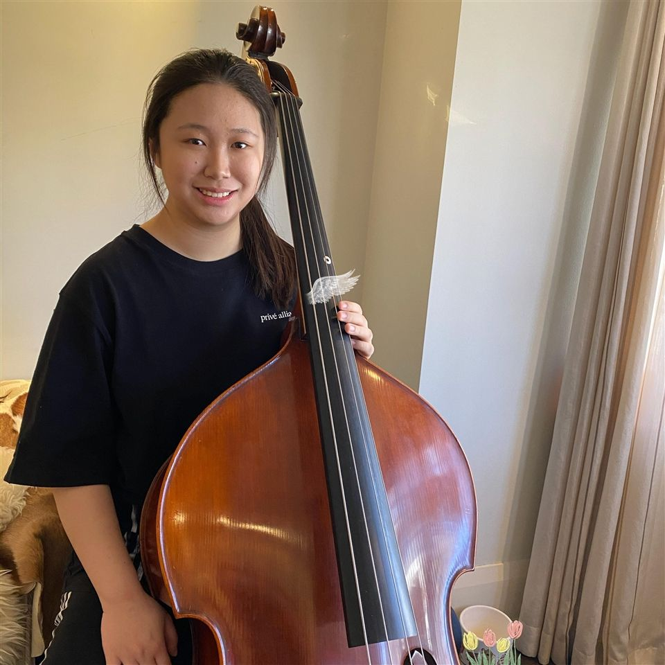 A virtual master class helped hone Connie's playing as she heads to Berklee College of Music in Boston next year.