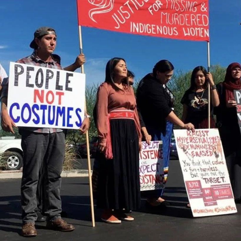 Hallowe'en was a time to discuss cultural appropriation vs. appreciation, in regard to costumes specifically.