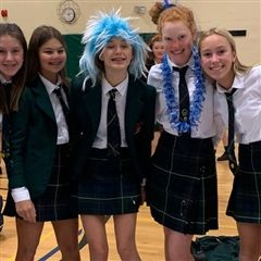 Wacky Hair Day offered lots of opportunities to try a new look.