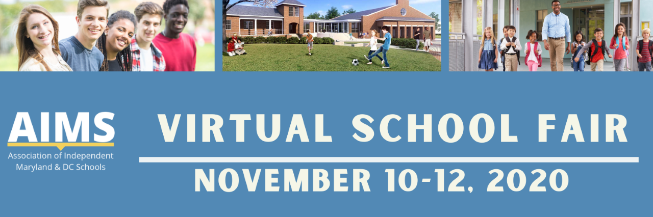 AIMS Virtual School Fair