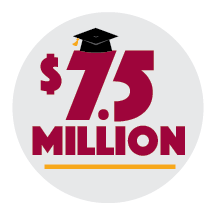 Our graduates are awarded millions in college scholarships each year.