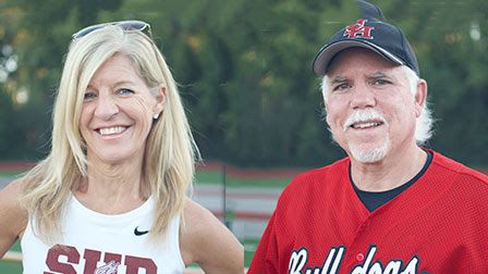 Dawn Hemm and Jeff Reynolds Athletics