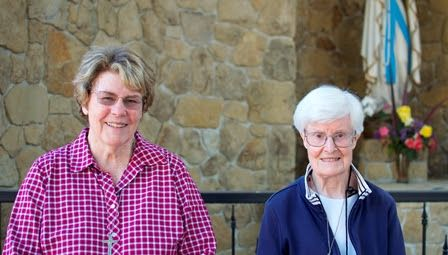 Sr. Ann McGowan and Sr. Nancy Morris