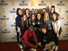 Pulse Dance Team at the Monsters of Hip Hop convention
