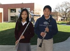 Alison K. (LMS '16) and Matthew K. (LMS '17) were named to the prestigious state Honor Band.