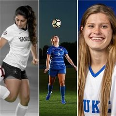 Leila Azari ('11), Taya Edwards ('11), and Chelsea Burns ('09) were named to the First Coast All-Decade First Team